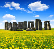 Stonehenge. Historical monument Stonehenge,England, UK Stock Photo