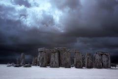 Stonehenge historyczny miejsce Obraz Royalty Free
