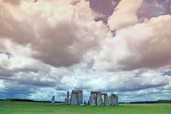 Stonehenge historyczny miejsce Obrazy Stock