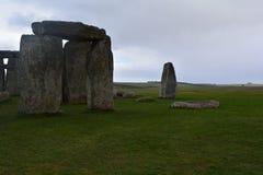 Stonehenge i sydliga England, mars 2017 Royaltyfri Fotografi
