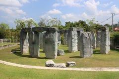 Stonehenge i Thailand Arkivbilder