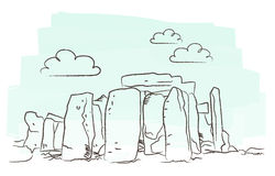 Stonehenge vector Stock Photos