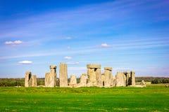 Stonehenge in Inghilterra fotografia stock libera da diritti