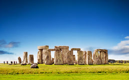 Stonehenge, Inghilterra Fotografia Stock