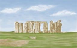 Stonehenge Inghilterra Fotografie Stock