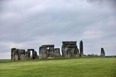 Stonehenge in Inghilterra immagini stock libere da diritti
