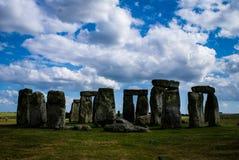 Stonehenge Inghilterra Fotografie Stock Libere da Diritti