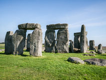 Stonehenge, Inghilterra immagini stock libere da diritti