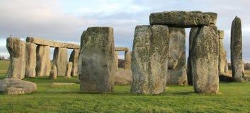 Stonehenge, Inghilterra Il Regno Unito Immagini Stock Libere da Diritti