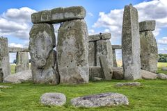 Stonehenge Inglaterra Reino Unido Imagem de Stock Royalty Free