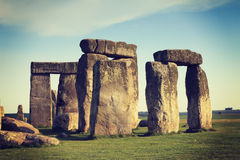 Stonehenge Instagram Immagine Stock