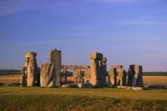 Stonehenge - l'Inghilterra (7400) Immagini Stock