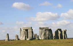 Stonehenge, llano de Salisbury Fotografía de archivo