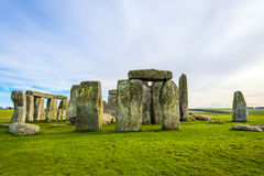 Stonehenge. Located at Wiltshire, England. One of the UNESCO World Heritage sites Stock Photo