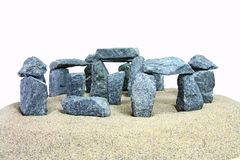 Stonehenge look-alike Stock Photography