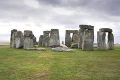 The Stonehenge megalithic monument Stock Photo