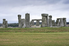 The Stonehenge megalithic monument Stock Images