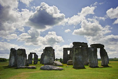Stonehenge, a megalithic monument in England Stock Photography