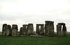 Stonehenge megalithic structure in the county in Wiltshire royalty free stock photo