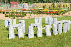 Stonehenge miniature Royalty Free Stock Photo