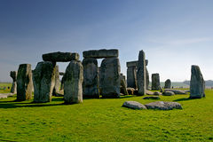 Stonehenge. Monument taken at Wiltshire, United Kingdom Stock Photos