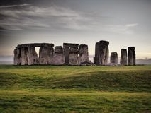 Stonehenge - monumento preistorico di EREDIT? INGLESE immagine stock libera da diritti