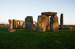 Stonehenge mysterious monument in England royalty free stock photography