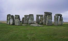 Stonehenge. Mysterious Stonehenge in Salisbury, England, United Kingdom royalty free stock image