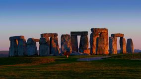 Stonehenge is a mystical place in England