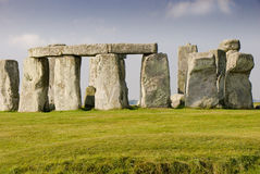 Stonehenge na manhã Imagens de Stock Royalty Free