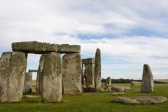 Stonehenge nel Regno Unito fotografie stock