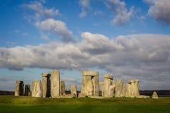 Stonehenge nel Wiltshire, Regno Unito fotografia stock libera da diritti
