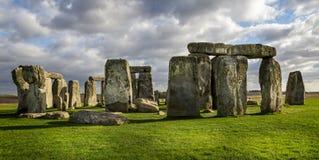Stonehenge nel Wiltshire, Regno Unito immagini stock