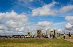 Stonehenge nel Wiltshire, Regno Unito immagini stock libere da diritti
