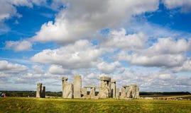 Stonehenge nel Wiltshire, Regno Unito immagine stock libera da diritti