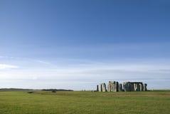 Stonehenge nella contea del Wiltshire - Inghilterra Immagini Stock Libere da Diritti