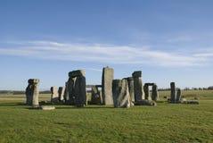 Stonehenge nella contea del Wiltshire - Inghilterra Immagini Stock