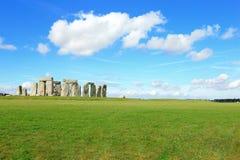 Stonehenge nella prateria fotografia stock libera da diritti