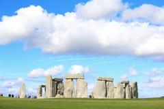 Stonehenge nella prateria fotografia stock