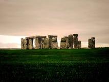 Stonehenge. With nice sky stock photos