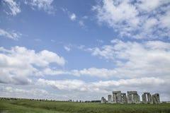 Stonehenge - os céus Foto de Stock Royalty Free