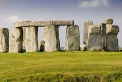 Stonehenge pendant le matin Images libres de droits