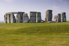 Stonehenge pendant le matin Photographie stock