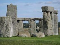 Stonehenge, pianura di Salisbury, Regno Unito Fotografie Stock Libere da Diritti