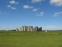 Stonehenge, pianura di Salisbury, Regno Unito Immagine Stock Libera da Diritti
