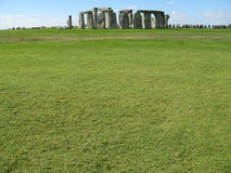 Stonehenge, pianura di Salisbury, Regno Unito Fotografia Stock