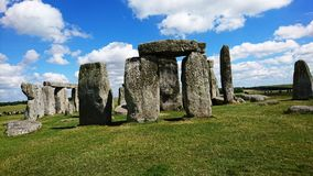 Stonehenge. A picture of Stonehenge in England, Wiltshire stock images