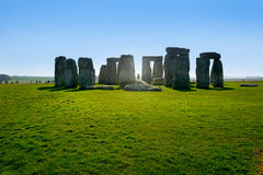 Stonehenge. Picture of Stonehenge located in Wiltshire, England royalty free stock images