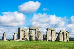 Stonehenge, plaine de Salisbury, WILTSHIRE, R-U Images stock