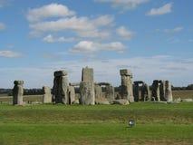 Stonehenge, planície de Salisbúria, Reino Unido Foto de Stock